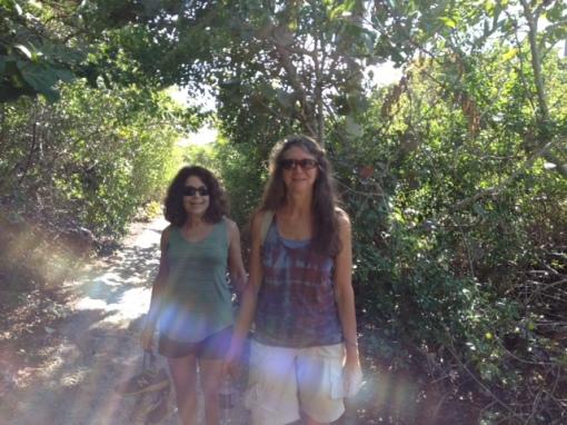 misty-dawn-and-beth-on-hike