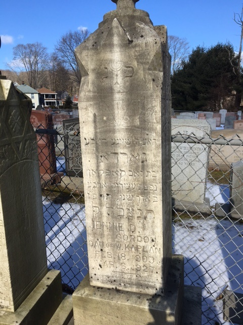 jennie-kaplan-gordon-tombstone