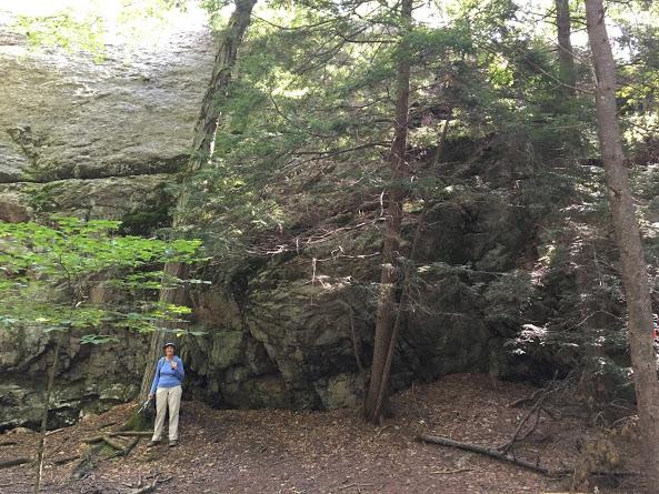 Huntington SP geological feature 09.11.17