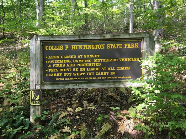 Huntington SP sign 09.11.17