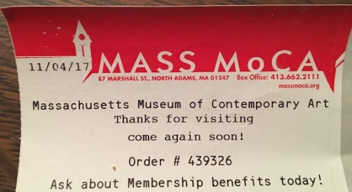 Mass Moca ticket