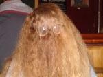 Elizabeth hair withglasses