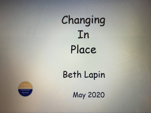 Changing in Place cover